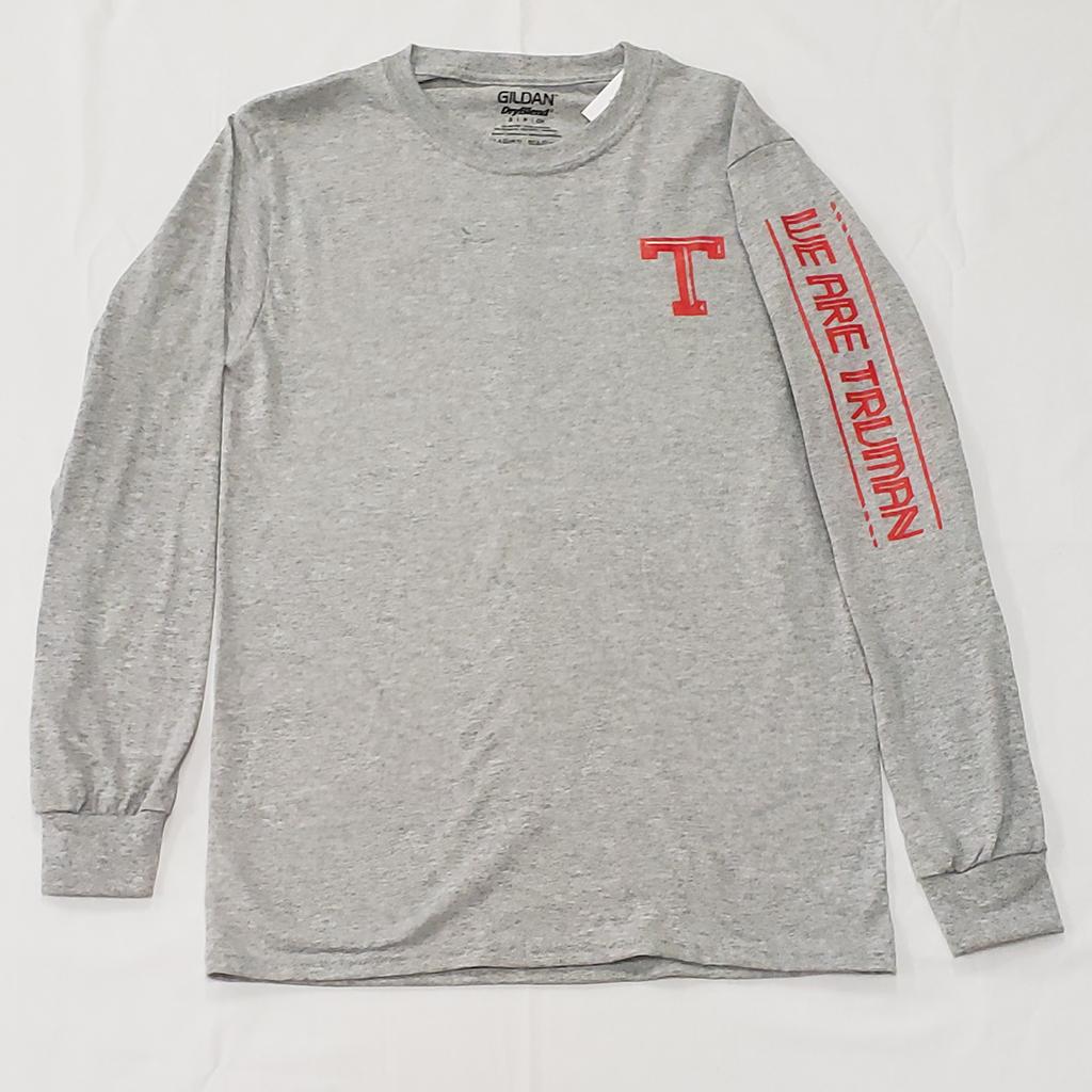 Grey Sleeve-Design Shirt   from 12.99
