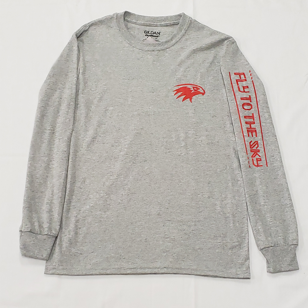 Grey Sleeve-Design Tee   from 12.99