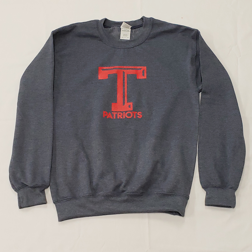 Heather Navy Logo Sweatshirt - Truman full.jpg