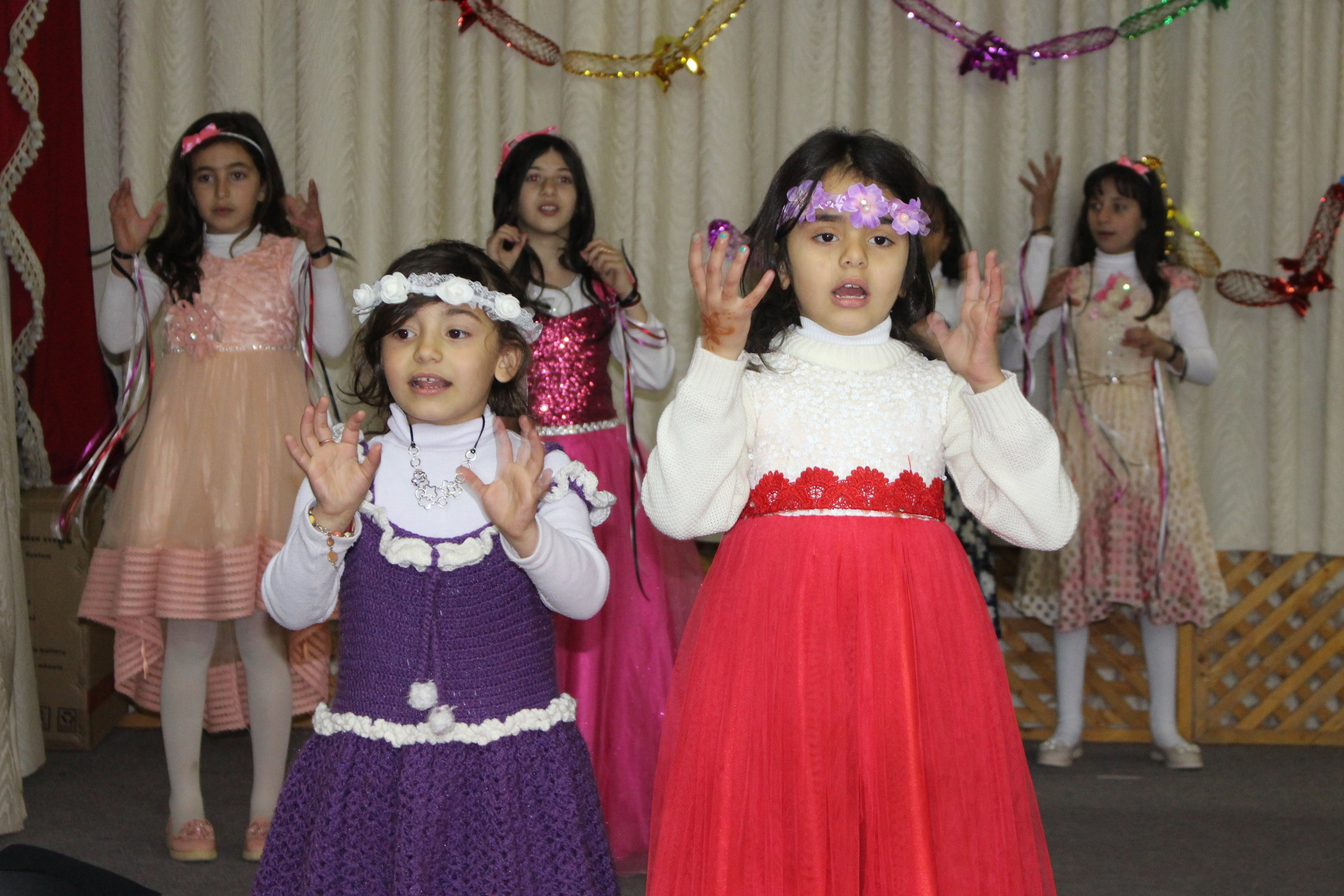 MECI-TSF 10.02.2019 Girls performing for the  Gradutation Ceremony.JPG