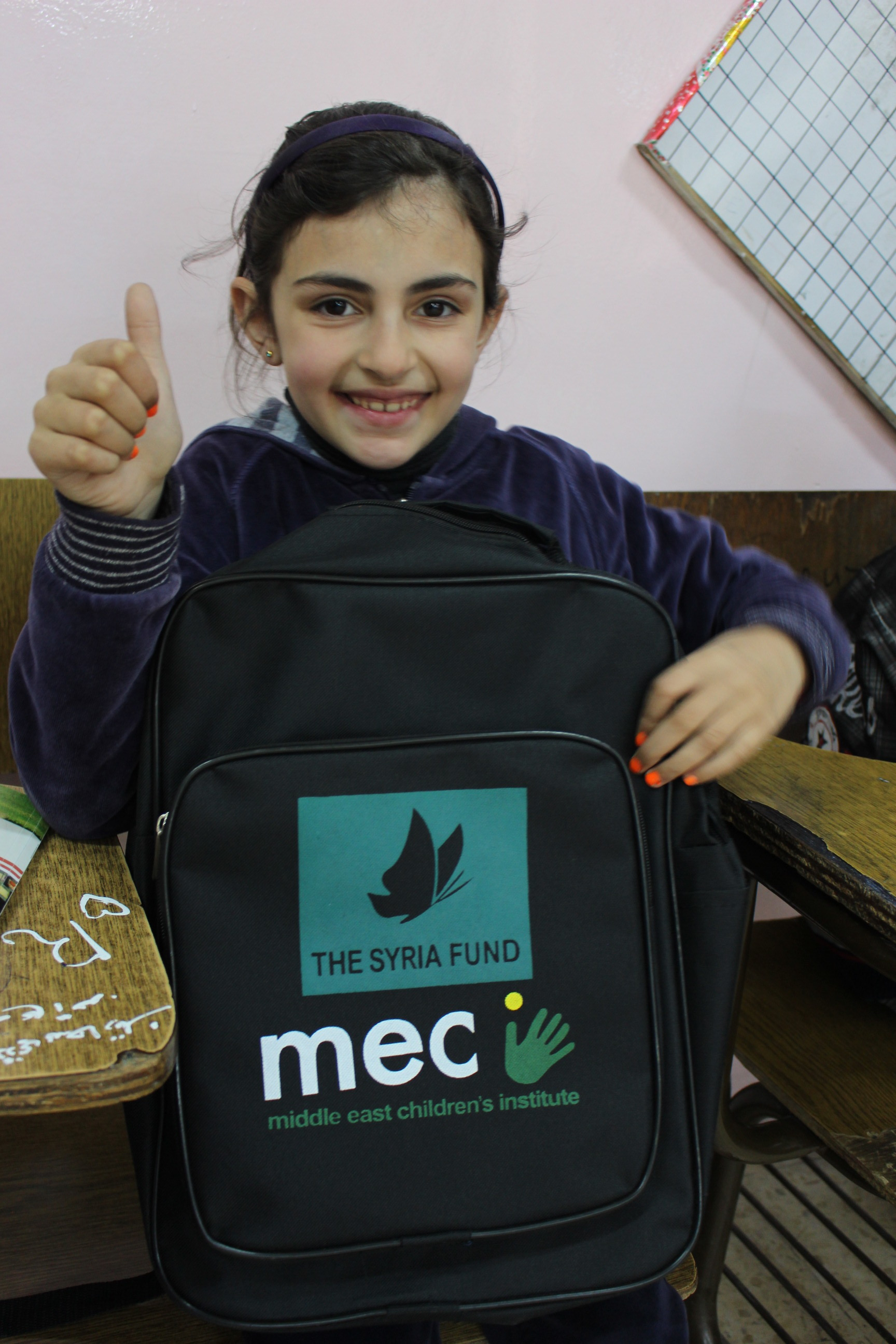 MECI-TSF 10.03.2019 First Intermediate Student in her first day.JPG