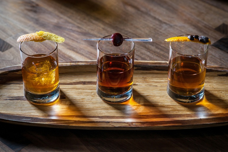 Bourbon & Scotch -