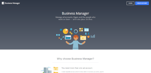 Facebook Business Manager screenshot | Facebook Pixel and Advertising 101: A How-To Guide for Small Businesses | Barton Creative Co.