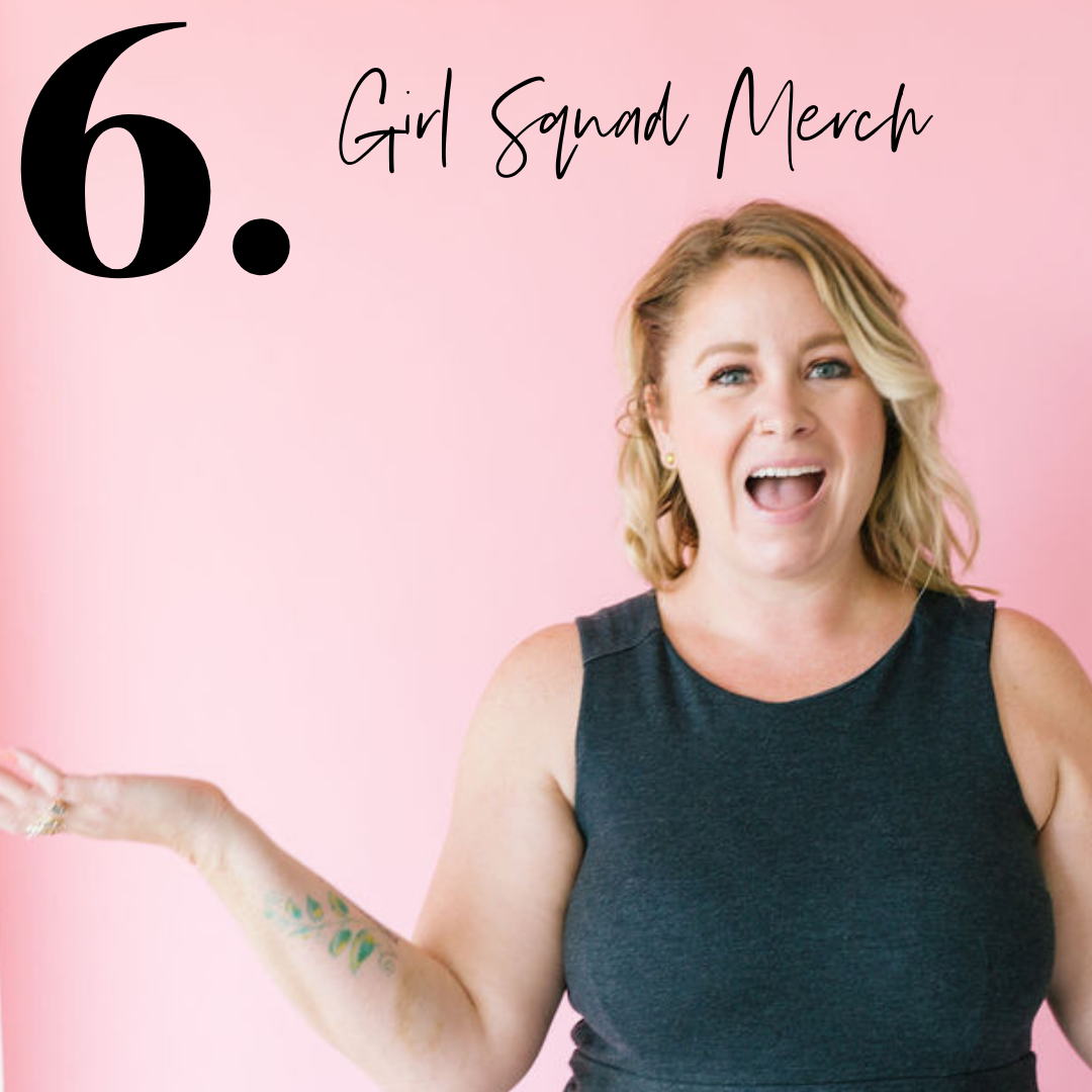 Girl Squad Quarterly + Merch - Snag your fav Girl Squad product and explore our quarterly box.Yes, we know you are addicted to office supplies. Why not make them so girl squad….?