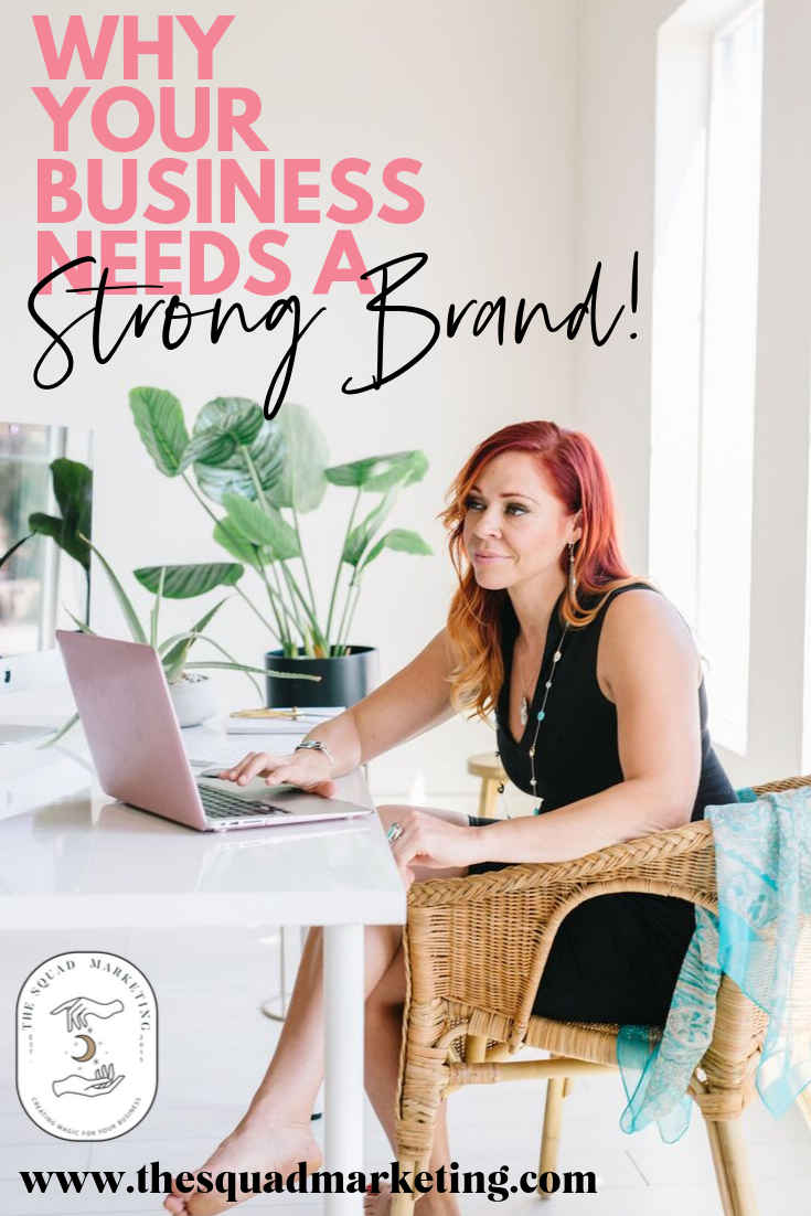 """The process of branding can often seem complicated and confusing, and you might be tempted to think you can get away with not using one, especially in the beginning. Well don't you do it! As we've learned, your business will end up with some form of a """"brand,"""" and you want to make sure that it's one that aligns to you and your goals.  The difference between a business that screams """"Trusted and super-capable glitterbomb of awesomeness"""" and one that mutters, """"Hang on... What is it we do again?"""" comes down to the strength of your branding."""