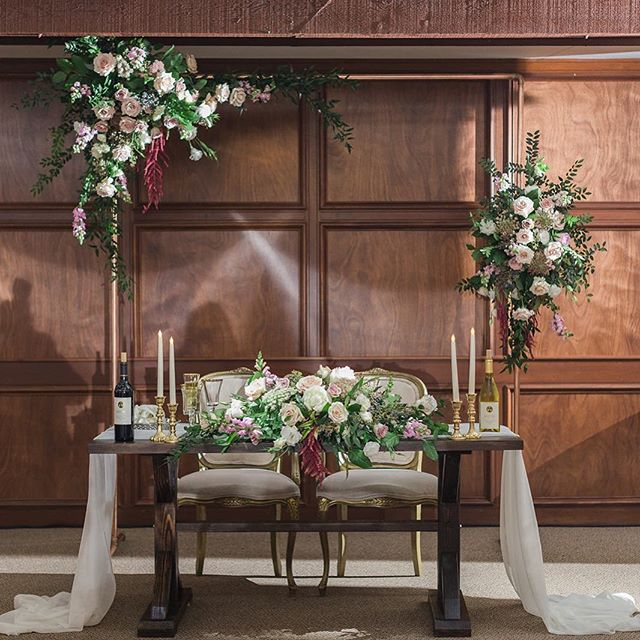 Elegant sweetheart table design.  Our wood sweetheart table is the starting point of this incredible vision. Team work on this beautiful set up. . . .  Venue @wiensweddings  Photo @ashleybeephoto  Coordinator @storybookweddingsandevents  Flowers @sweetflowersinfo  Tables @wildwoodevent  Linen @kelly_creativecoverings  Dish ware @abbeypartyrentals  Stationary @shelbycreativedesign  #weddingrentals #eventplanner #wedding  #tabledecor #farmtables #temecula  #wienswinery #babyshower #bridalshower #decor #flowers #party #rustic #weddingarch #farmhousetable #wedding #bride #groom #sweethearttable #dreamweddings #justsaidyes #springwedding #summer #weddingseason2019