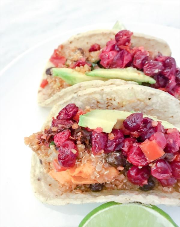 cranberry tacos