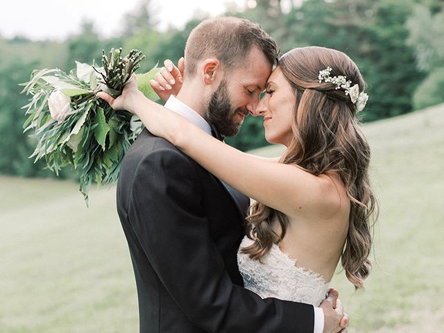 When the final to-do is done, and we have every perfect emotion captured in film. Full album on Facebook 💚  Photos by @ashergardner_ Flowers by @moonsetfarm  Hair & Makeup by @beautini  Venue @preserveweddings  Dress by @pronovias  Jewelry by @kleinfeldbridal  Shoes by @sjpcollection  Tuxedo @suitsupply  Calligraphy by @kates_calligraphy  Video to come by @bcweds