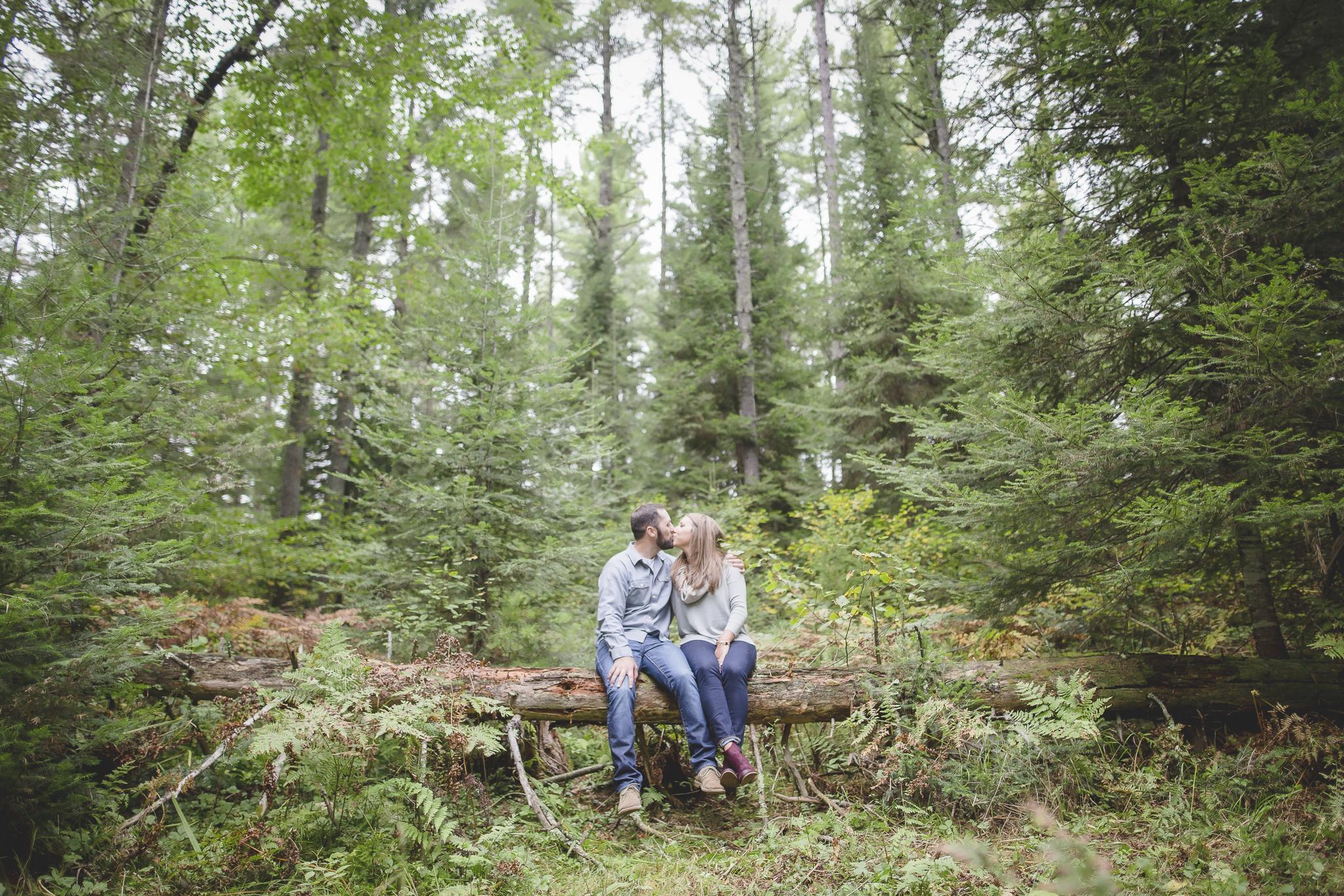 north woods cabin engagement session minnesota-2.jpg