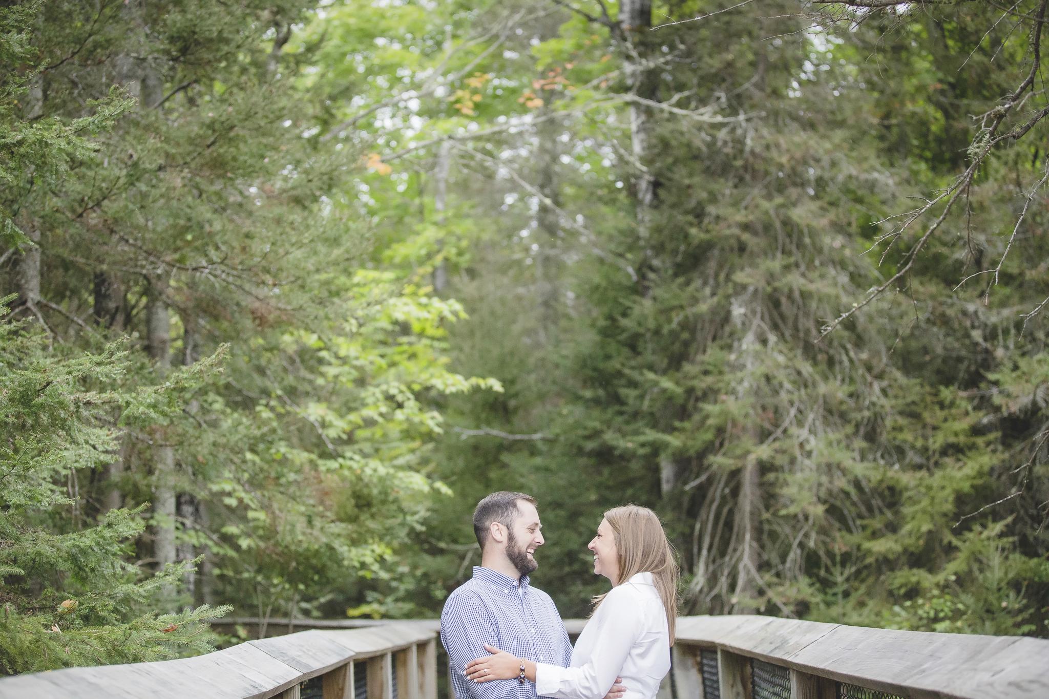 north woods cabin engagement session minnesota-9.jpg