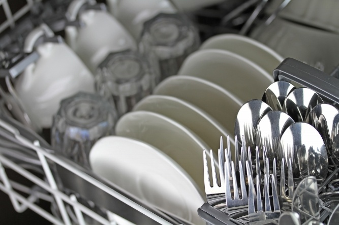 The dishwasher can be a storage for clean dishes. Emptying it is a job which can also be fodder for a high number of arguments between children and their parents.