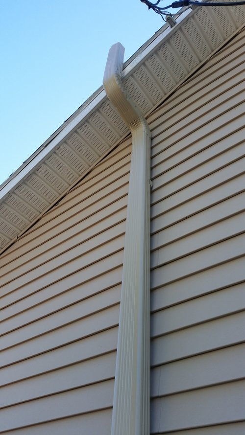 For ventilation, we use 3x4 downspout and can match its color to either your house's current downspout or siding