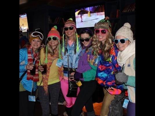 ski theme party