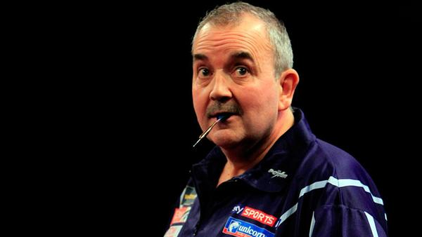 "Phil ""The Power"" Taylor eats darts for breakfast, are you up for the challenge? (Courtesy Sky Sports)"