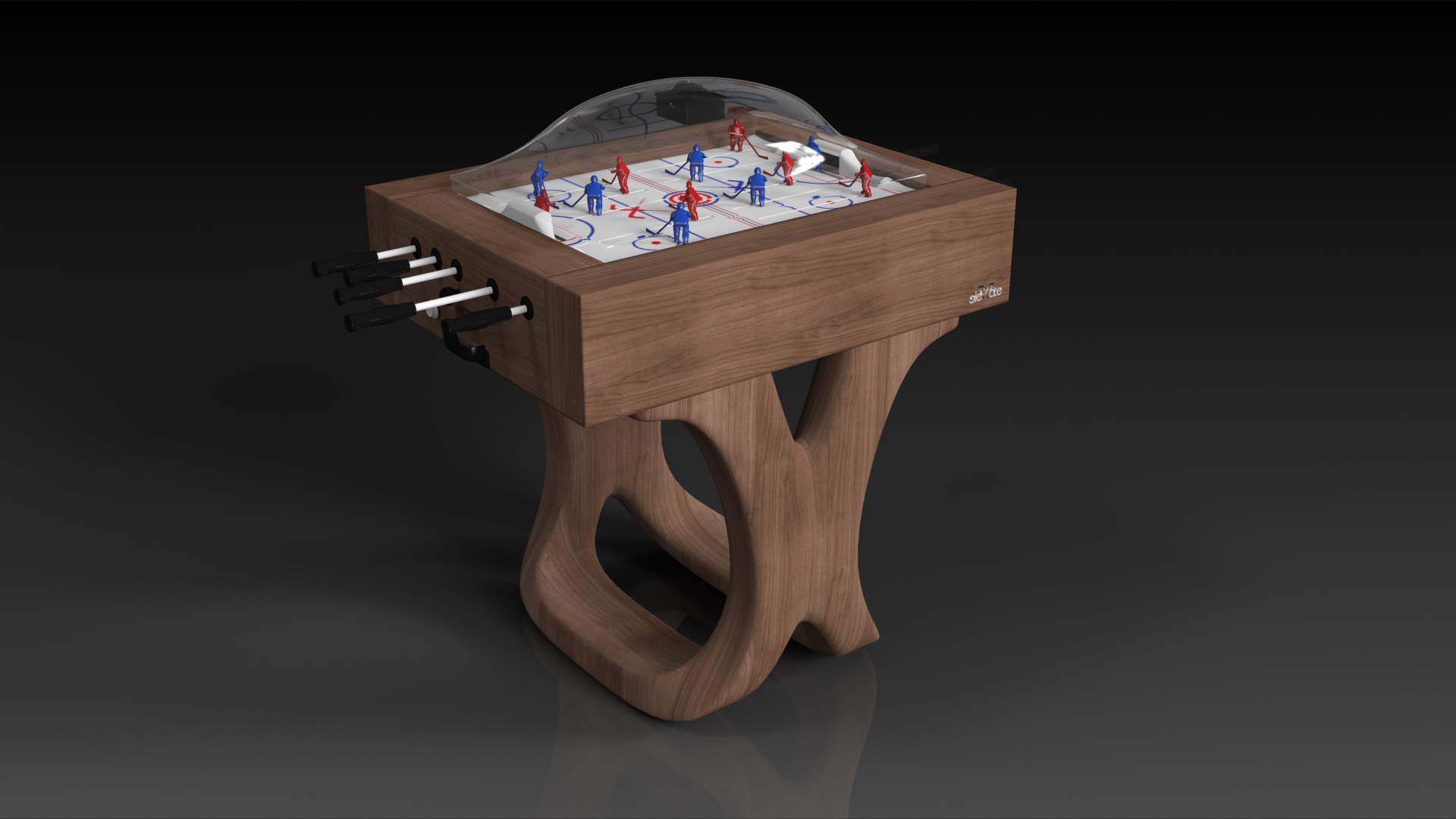 Yes, you can  design your own luxury bubble hockey table .