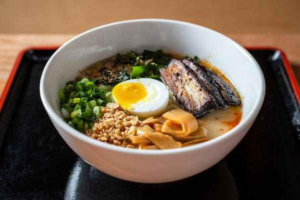 You might start craving soup and comfort foods like this delicious bowl of ramen from Ramen San, which you can order on  Caviar
