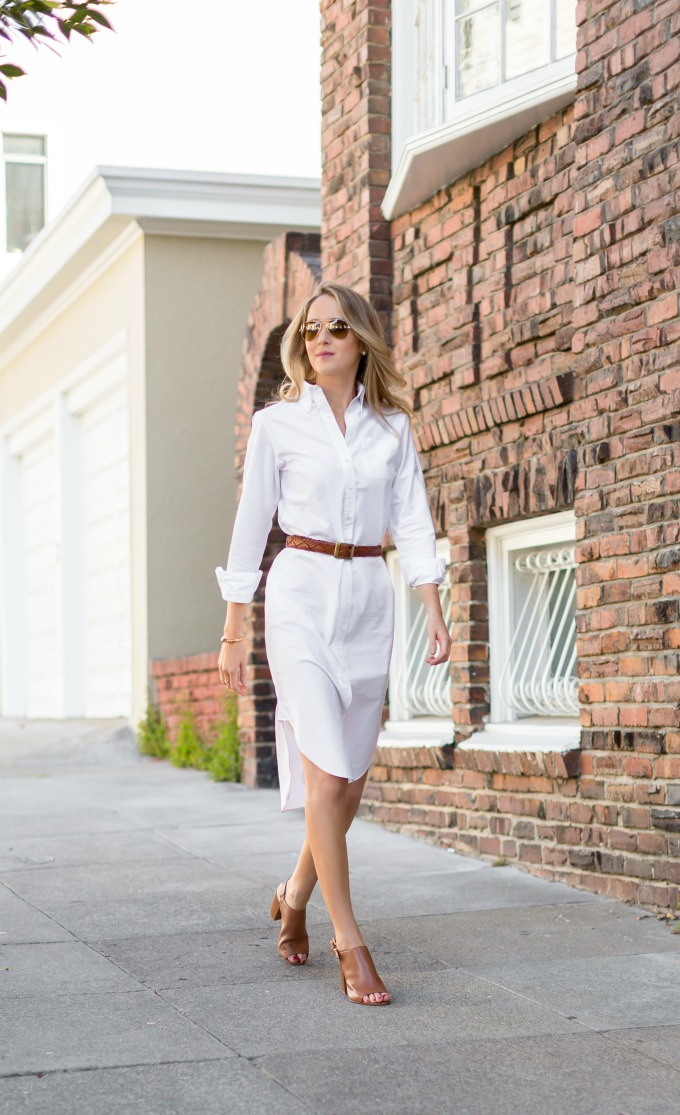 a-brooks-brothers-black-fleece-white-shirt-dress-brown-braid-belt-mule-peep-toe-heeled-sandal-pumps-michael-kors-work-wear-professional-style-fashion-blog-san-francisco.jpg