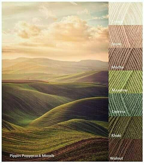 Earthy Colors -