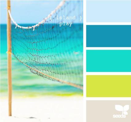 Beachy Colors -