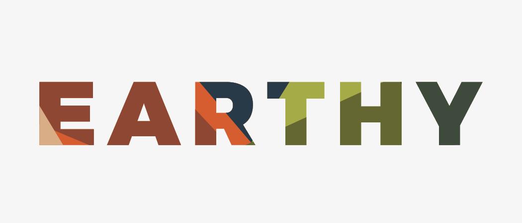 earthy color scheme