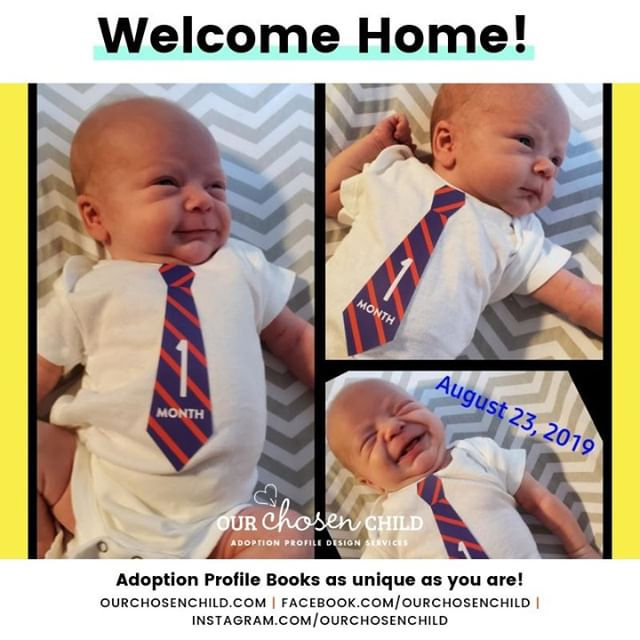 This happy fella's parents waited just two months for his arrival! His smile just made my day - I hope it makes your day as well!  #ourchosenchild #adoption #adoptionprofilebook #adoptionbook #adoptionjourney #adoptionstory #lovemakesafamily #chosen #family #birthmomstrong #adoptiveparents #domesticadoption #adoptionislove #adoptionawareness #openadoption #adoptionprofile #joannaivey #adoptionwebsite