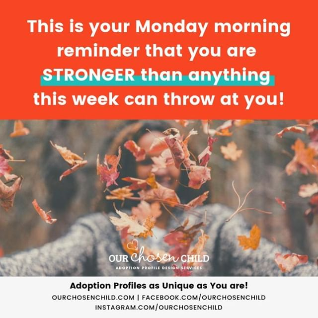 Happy first day of Fall!  #MotivationMonday #ourchosenchild #adoption #adoptionprofilebook #adoptionbook #adoptionjourney #adoptionstory #lovemakesafamily #chosen #family #birthmomstrong #adoptiveparents #domesticadoption #adoptionislove #adoptionawareness #openadoption #adoptionprofile #joannaivey #adoptionwebsite
