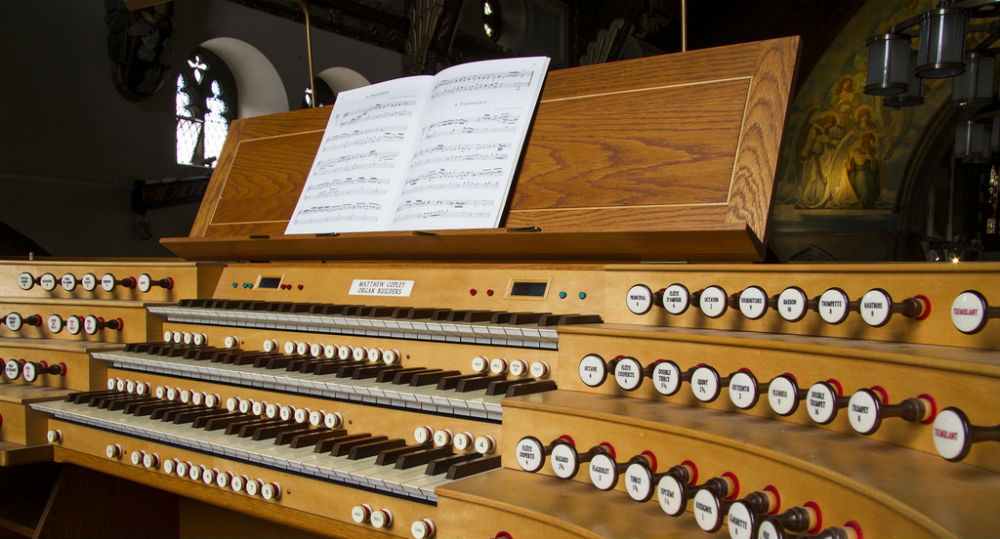 Matthew Copley Organ in the Cathedral