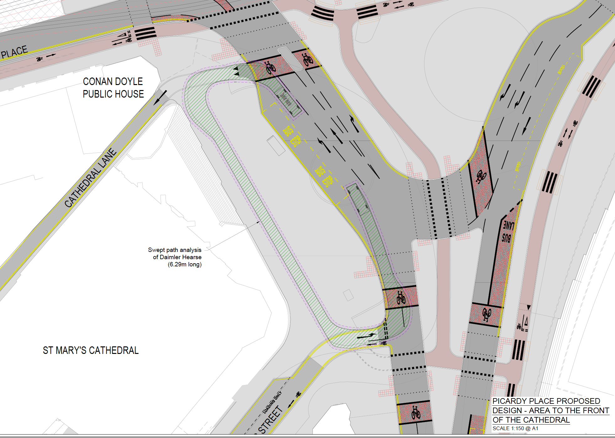 Picardy Place Proposed Layout, 25 January 2018 - City of Edinburgh Council