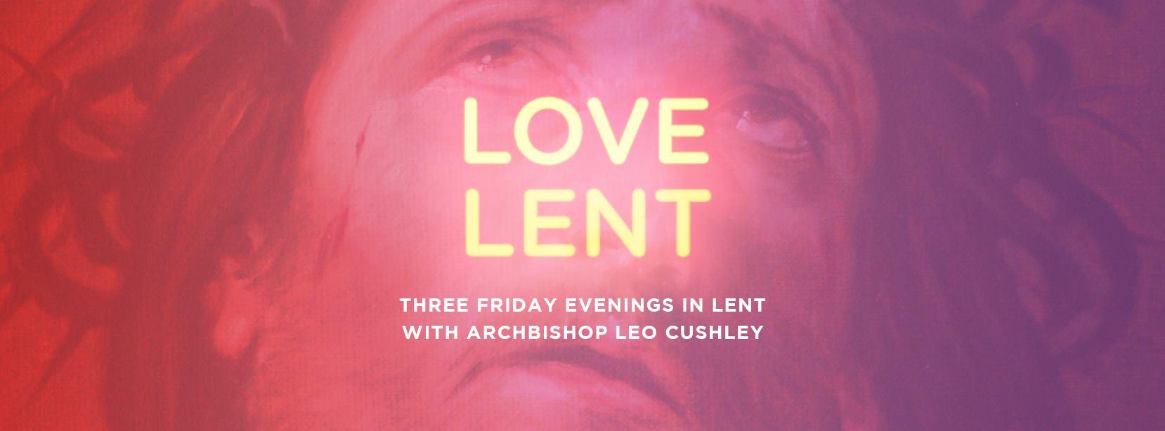 Love Lent graphic