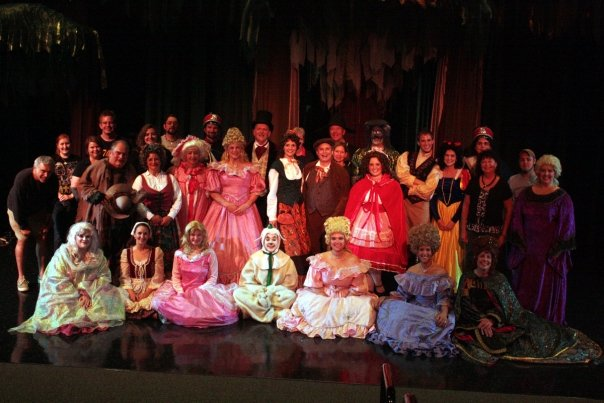 Here we go. What a nice memory. GACT 2009 cast of  Into The Woods . Did you know that Benjamin Beck, who played the role of Jack, did so while suffering from Shingles?