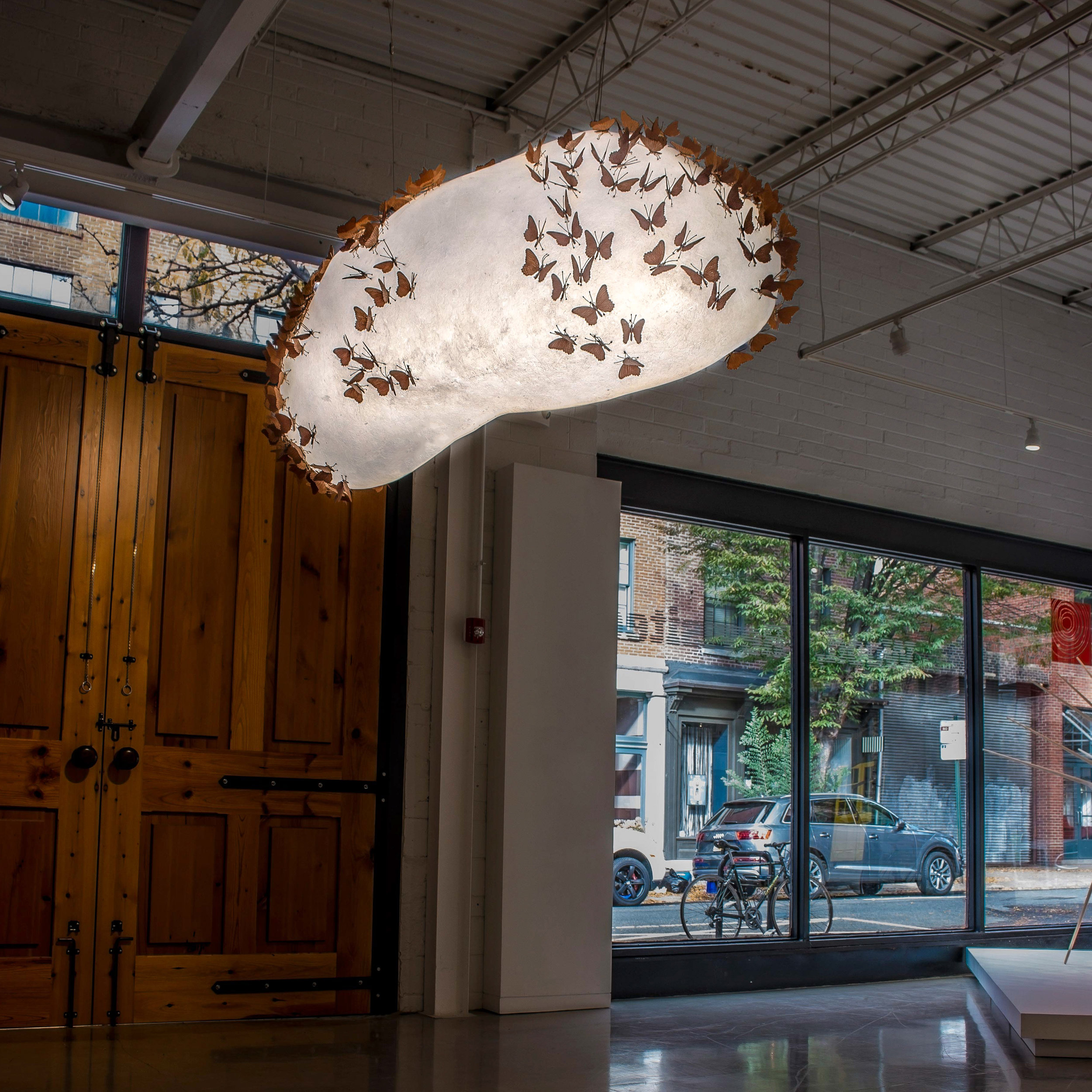 Butterfly Asteroid,  Center for Art in Wood, Philadelphia, Pennsylvania, October 2016