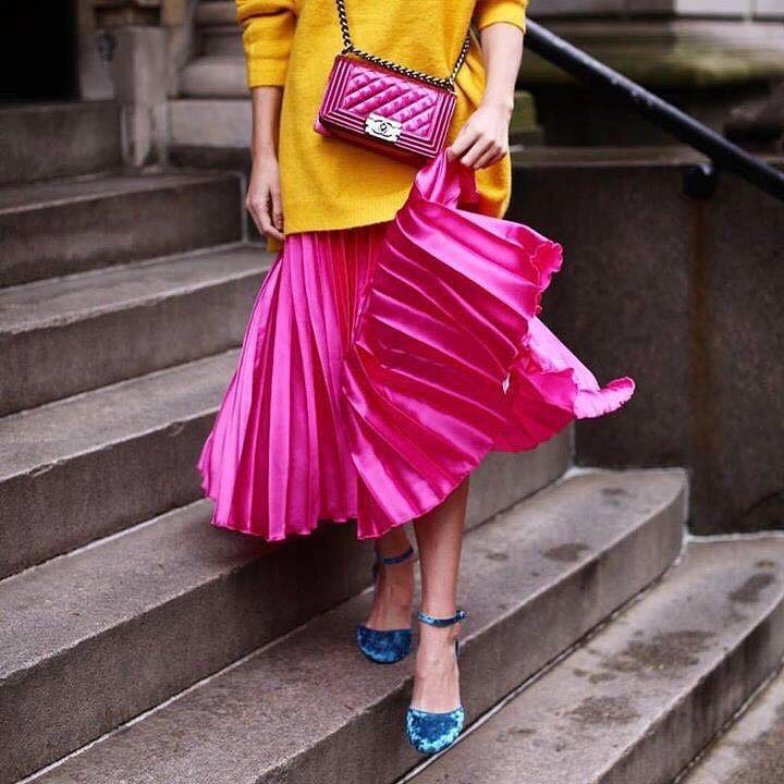 Creatively chic & colorful.