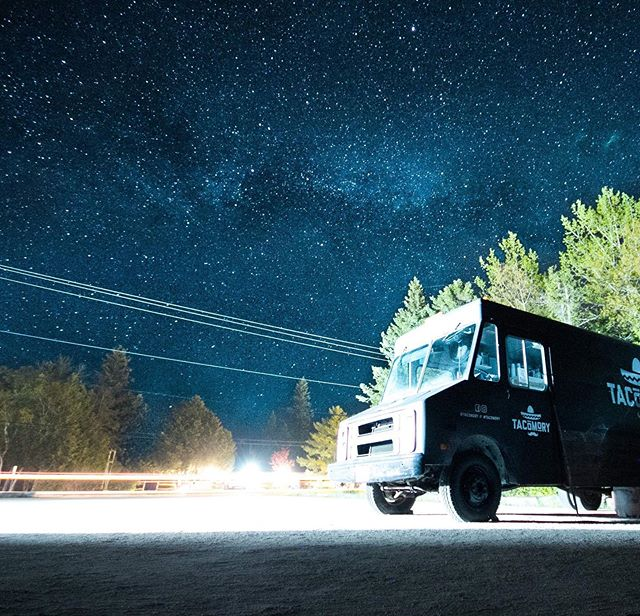 Anyone else love the stars in Tobermory? ✨🙌 #tacomory #tobermory #brucepeninsula #explorethebruce #greybrucesimcoe #tobermorytruck #stargazing
