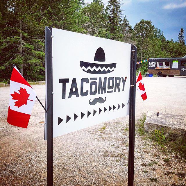 Happy Canada Day! 🇨🇦🙌 #tobermory #tacomory #brucepeninsula #tacotruck #canada #canadaday #explorethebruce #explorecanada #greybrucesimcoe #truenorthstrongandfree