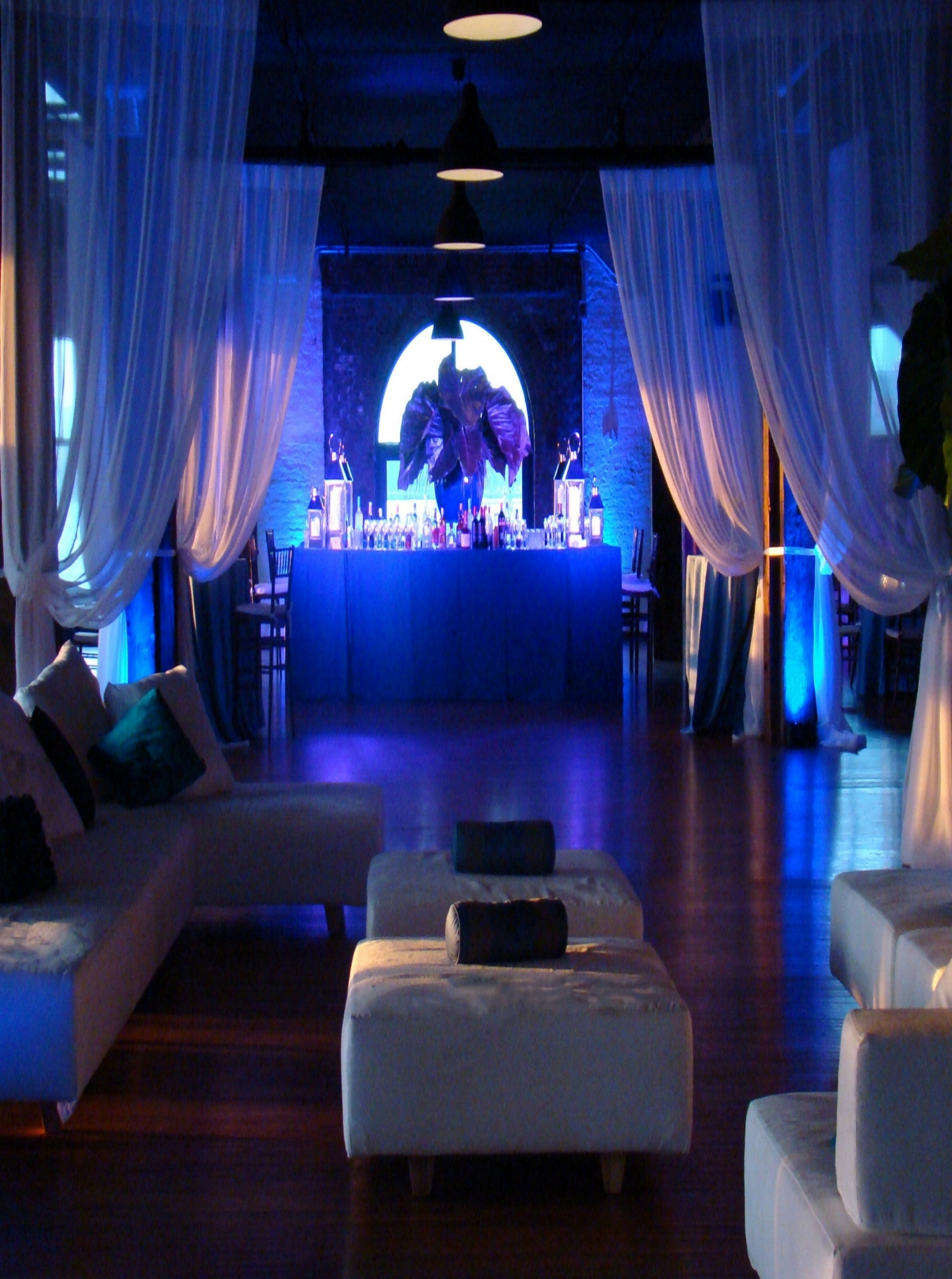 A wedding Lounge Reception