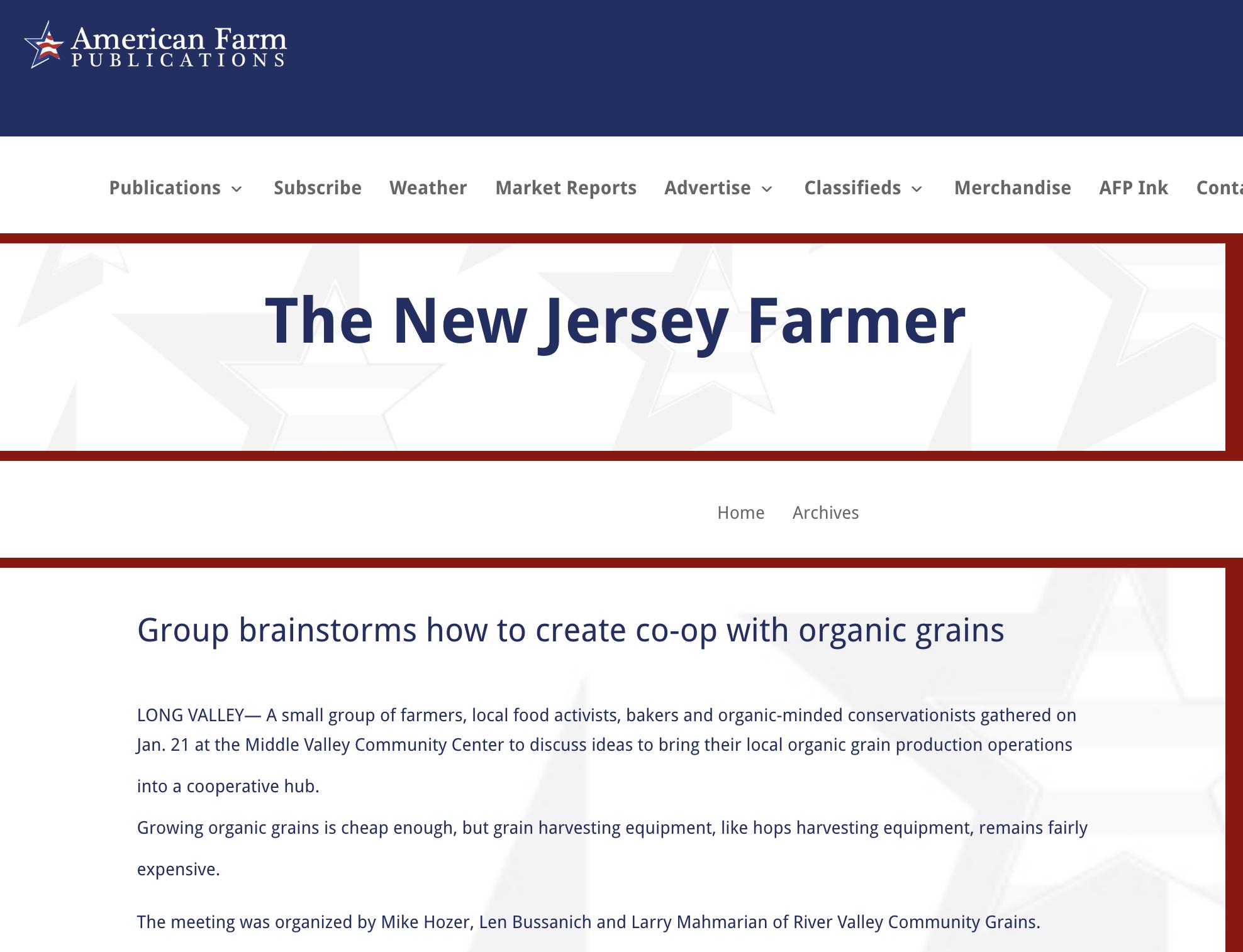 american farm -