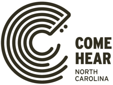 Come Hear NC  is a promotional campaign of the  North Carolina Department of Natural & Cultural Resources  and the  North Carolina Arts Council  designed to celebrate North Carolinians groundbreaking contributions to many of America's most important musical genres — blues, bluegrass, jazz, gospel, funk, rock and everything in-between.  Our goal is to share and promote authentic and compelling stories about music and musicians in North Carolina — especially those that demonstrate our state's influence on American music — with residents and visitors.