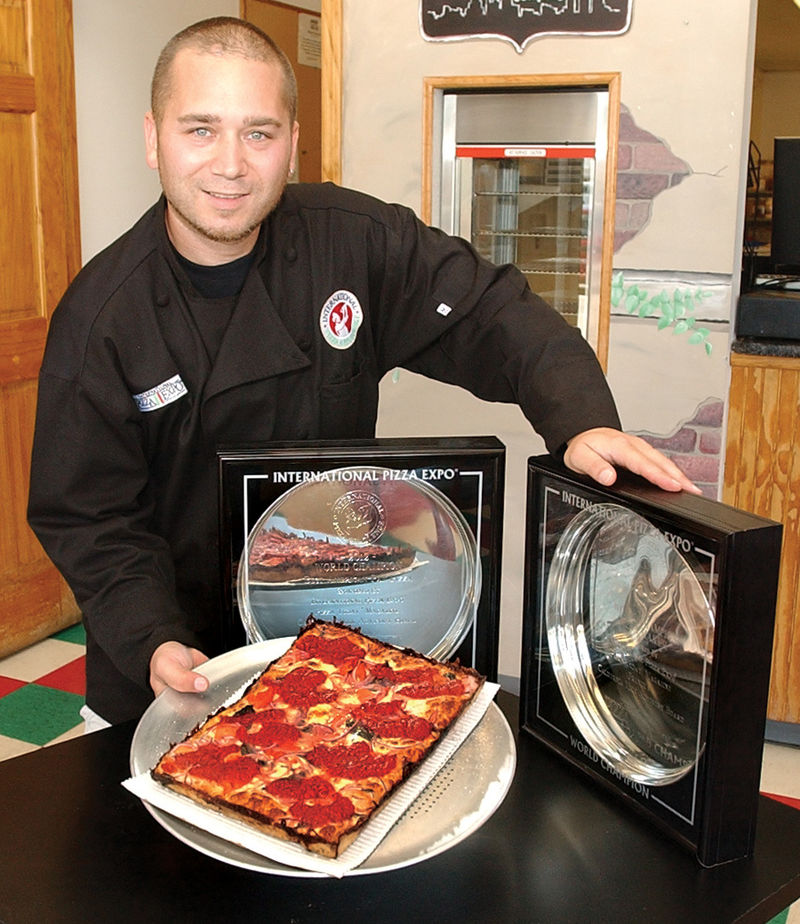 Founder of Detroit Style Pizza Co., Shawn Randazzo