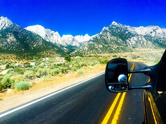 On the Road to Perdition with Alan Call, @brooktakepicture, @breezin_along  #mtwhitney