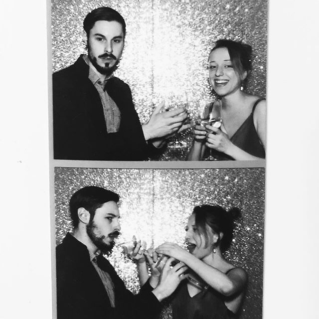 Just trying to fit into the LA scene with this demon 🌚🌝 #wine #openbar #photobooth #redondobeach #wedding #losangeles