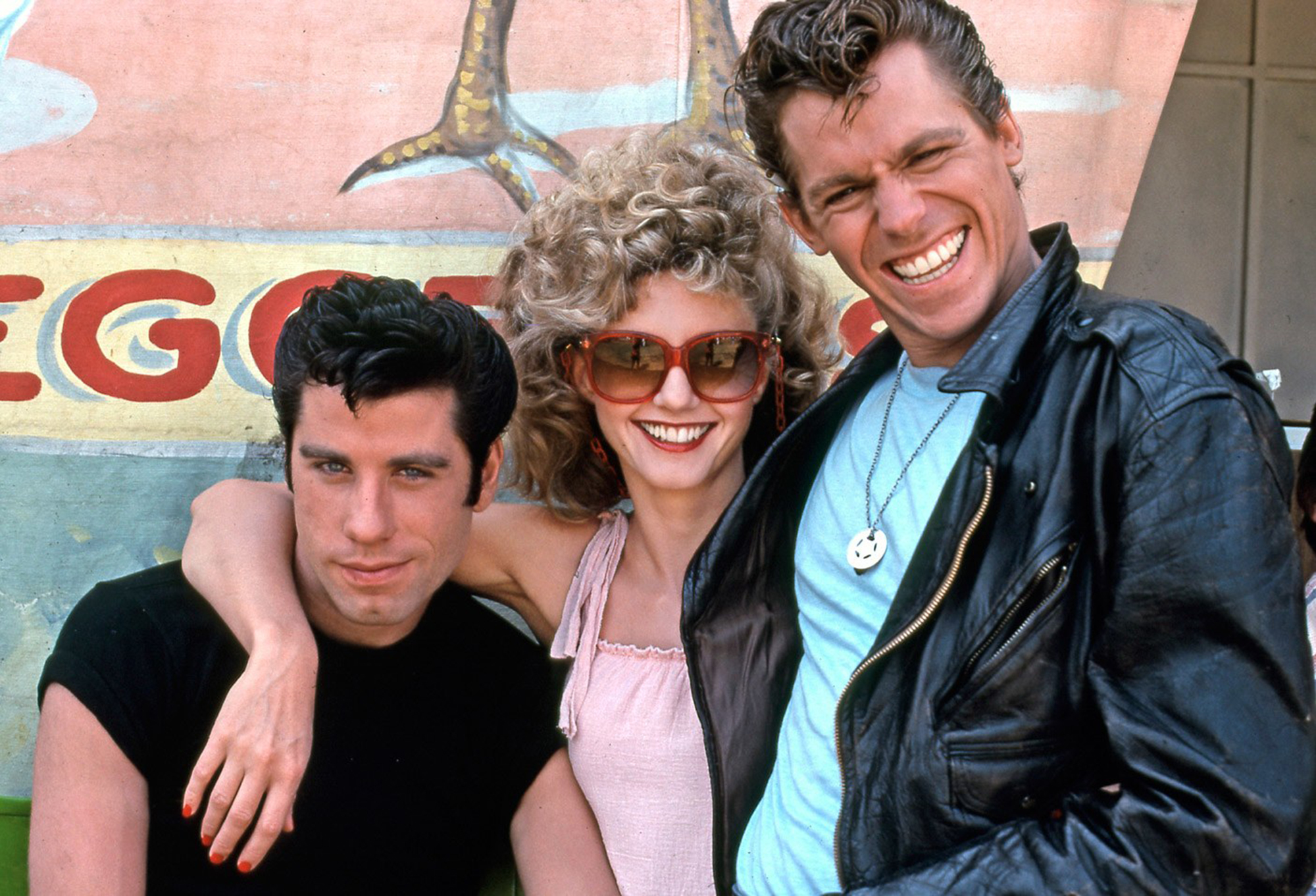 'Grease' BTS photographed by Dave Friedman (1978) - Image courtesy of Randal Kleiser for Homesick magazine Issue #2   www.randalkleiser.com