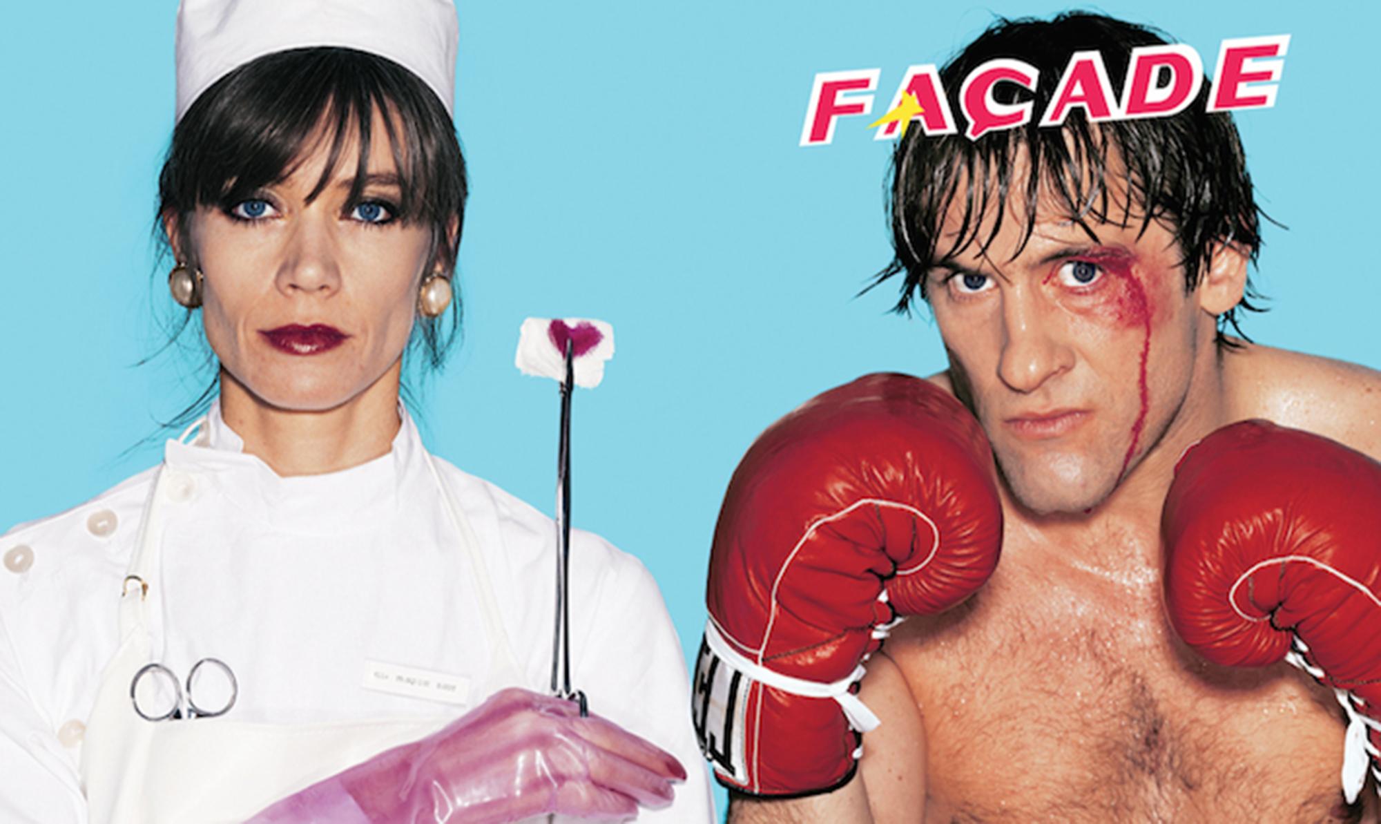 Façade Magazine #11 starring Gérard Depardieu & Françoise Hardy (1981) - Image © Façade Magazine   www.facadeparis.com