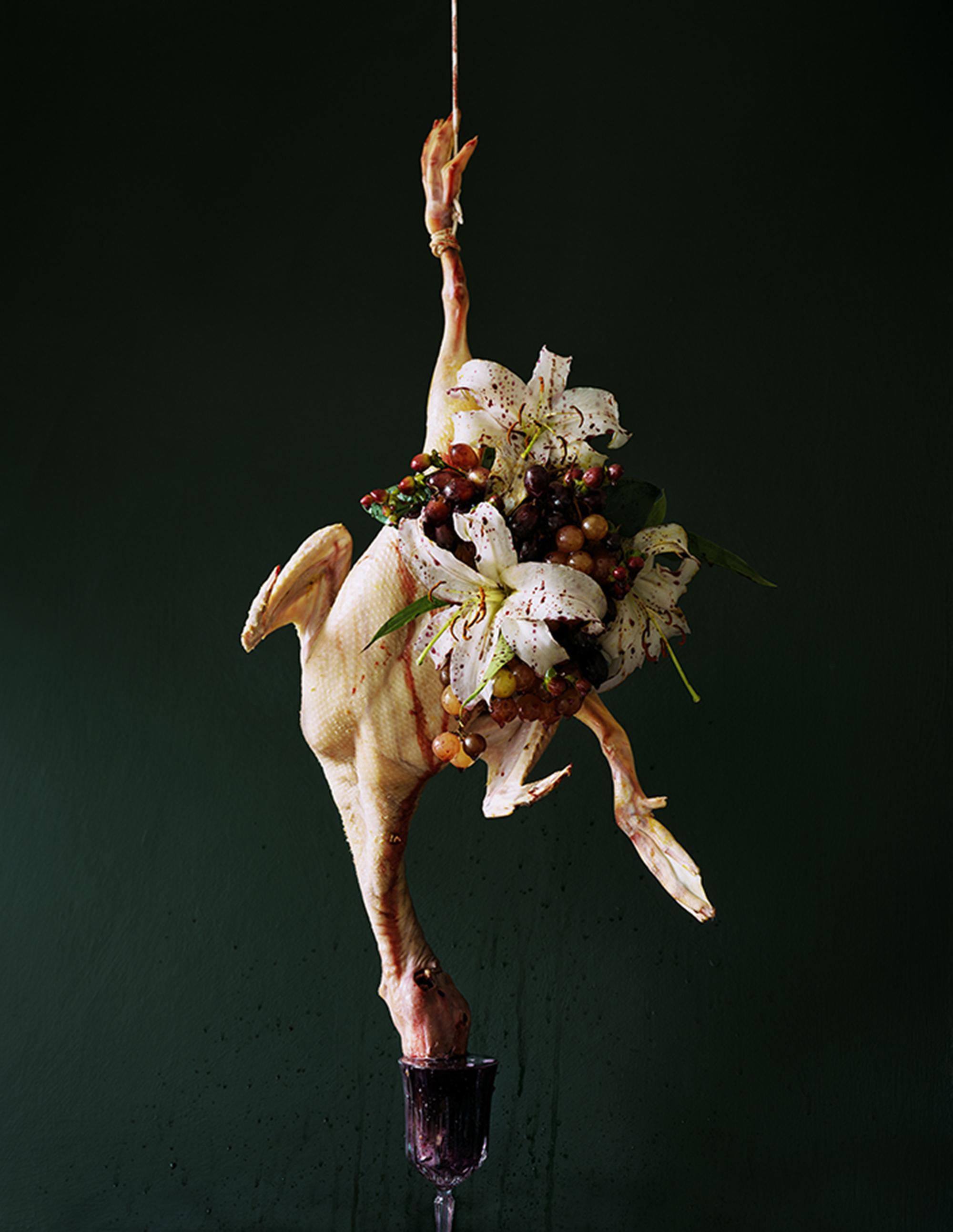 'Luxuria' by artist Tara Sellios (2013) - Image courtesy of Tara Sellios for Homesick Magazine Issue #1   www.tarasellios.com