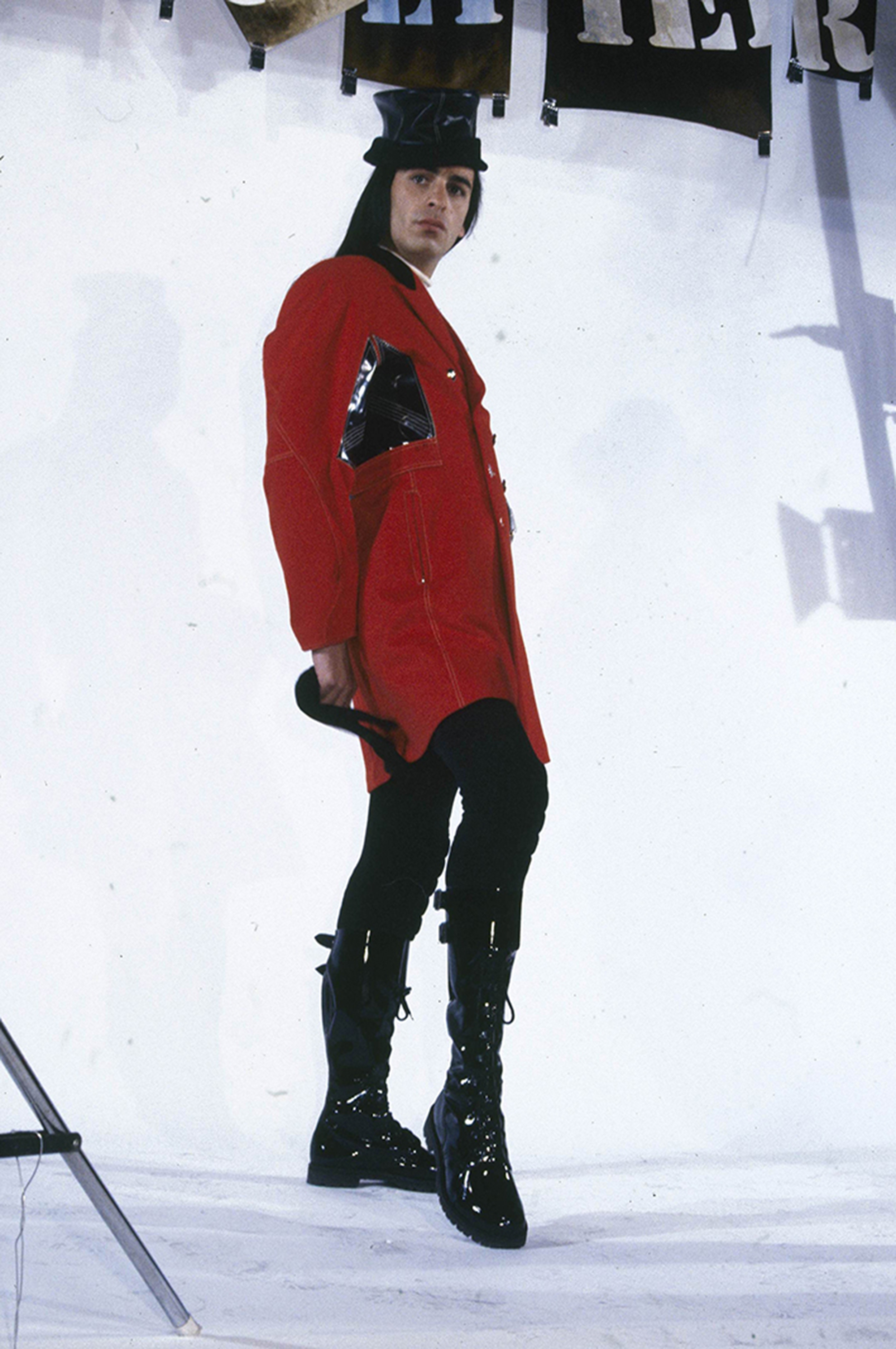 Tanel Bedrossiantz for Jean Paul Gaultier (1992) - Image courtesy of Jean Paul Gaultier for Homesick Magazine Issue #1   @tanelbedrossiantz