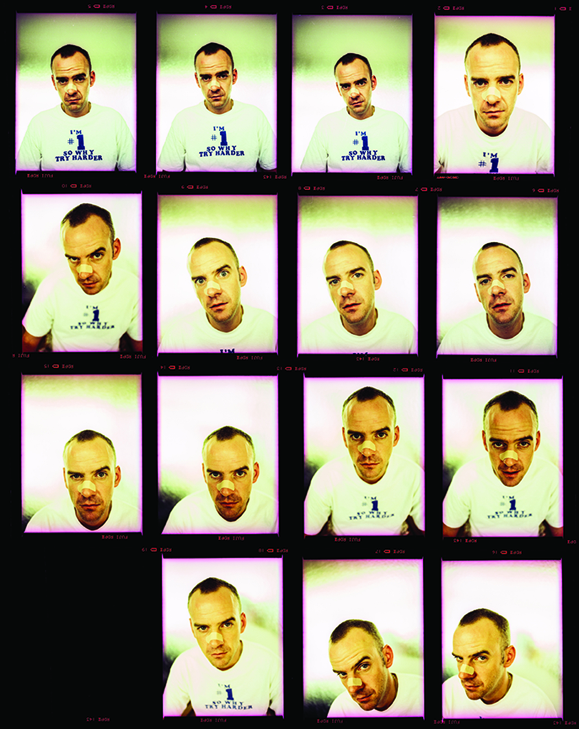 Fatboy Slim shot by Eddie Otchere, New York (1997) - Image courtesy of Eddie Otchere for Homesick Magazine Issue #3   www.otchere.work