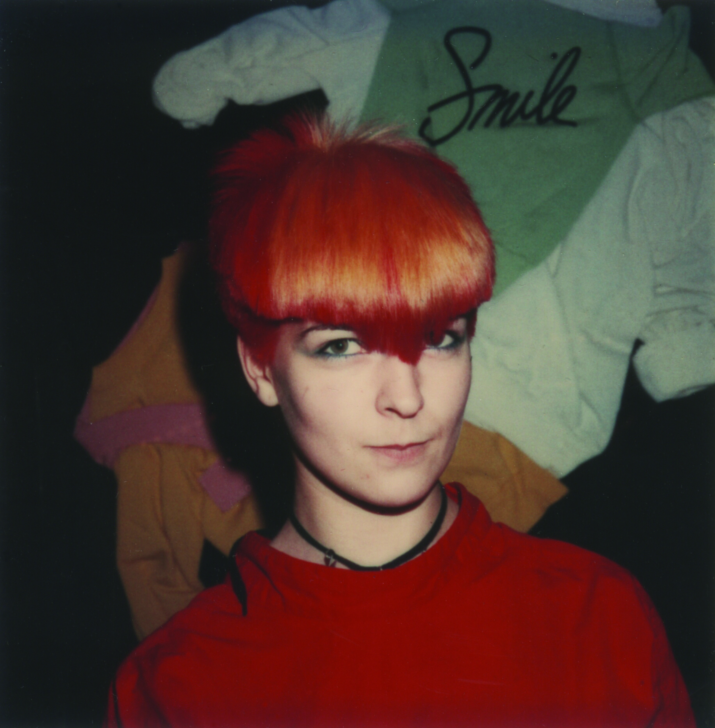 Toyah Wilcox with hair by Keith at Smile, London (Early 1980s) - Image courtesy of Keith Wainwright for Homesick Magazine Issue #3   www.youtube.com