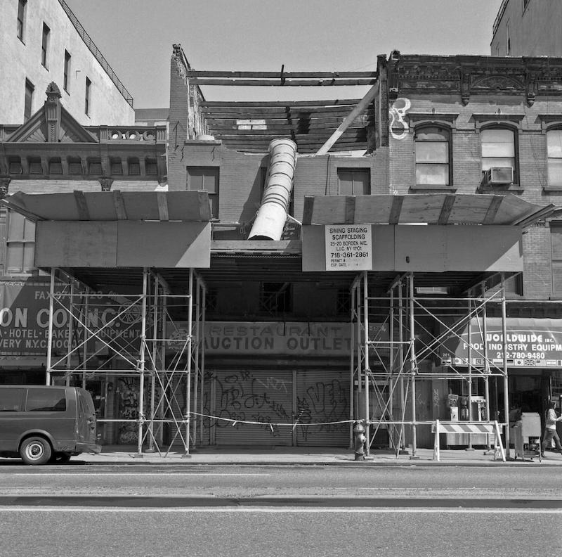 Bowery destruction