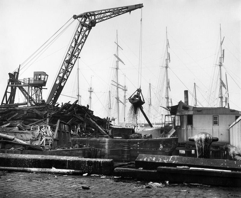 Dock destruction #1