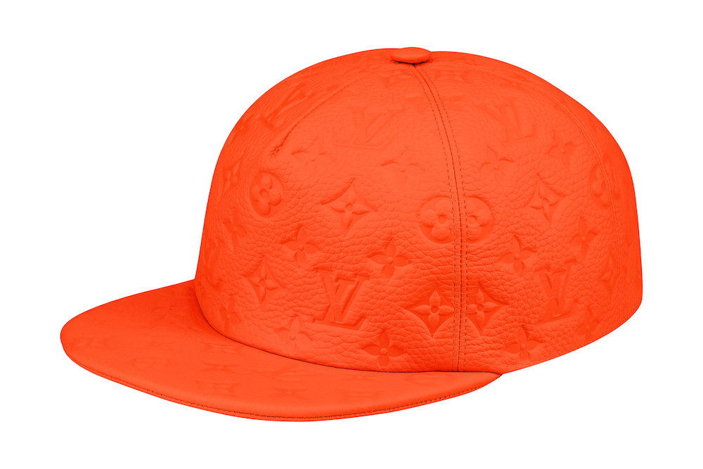 Monogram Leather Cap