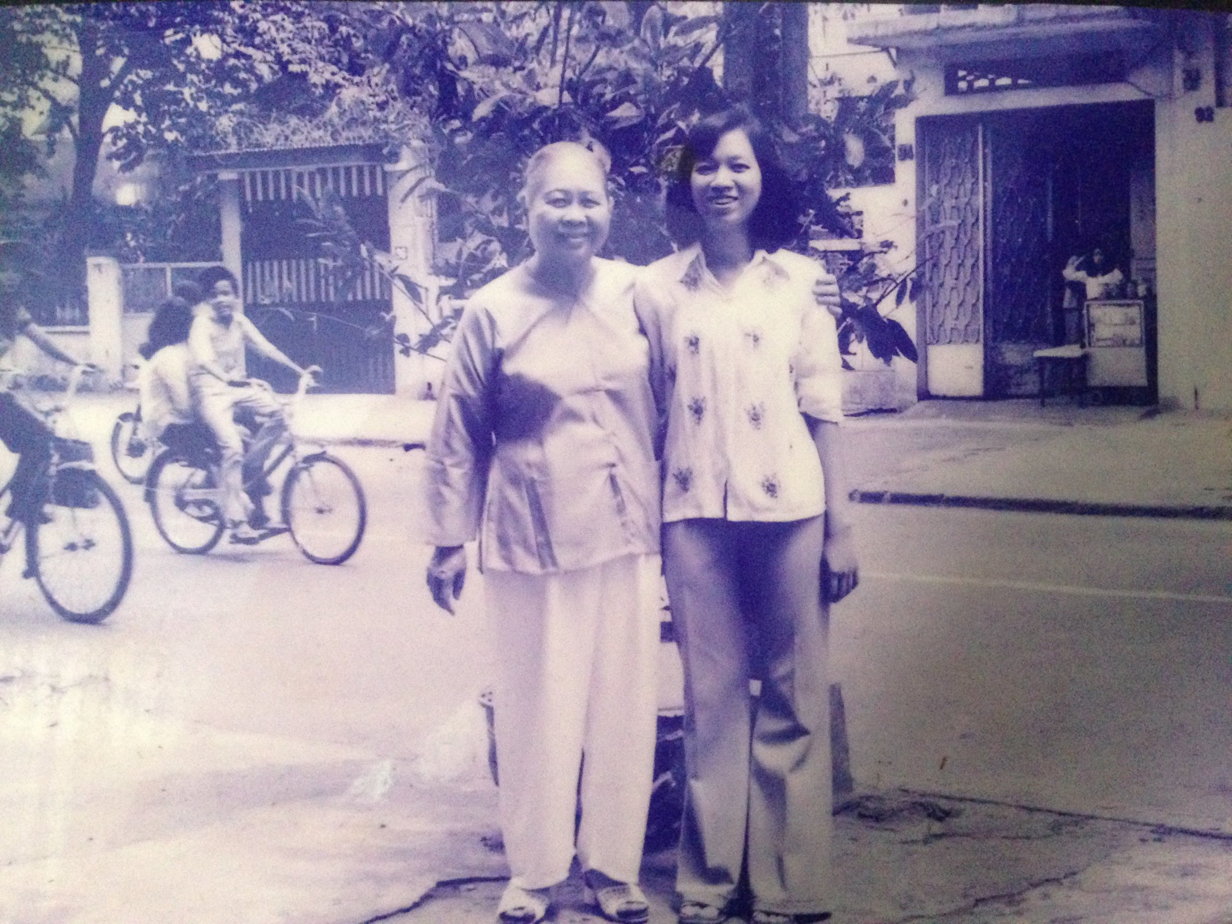 Catherine's mother at a younger age in Viet Nam